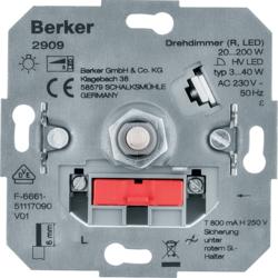 Berker S.1 Ρυθμιστες Φωτισμου DIMMER Μηχανισμοι - Πλακιδια