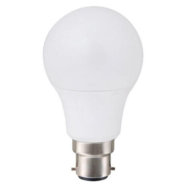 ΛΑΜΠΑ LED ΚΟΙΝΗ 11W B22 3000K 230o 1055LM VK05054/B/W